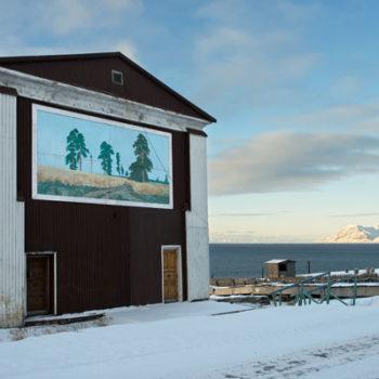 Teoksen nimi: Sarjasta Kaipauksen maisemia  (Barentsburg)
