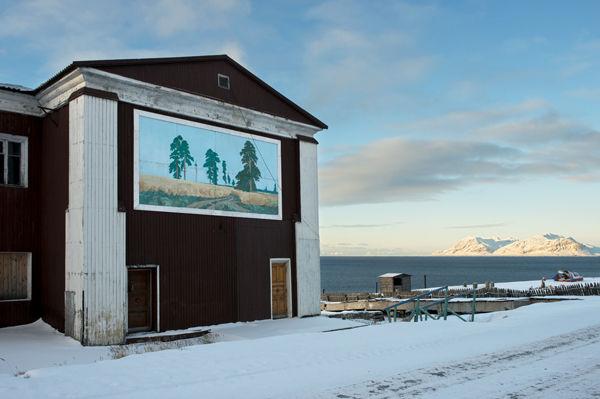 Sarjasta Kaipauksen maisemia  (Barentsburg)