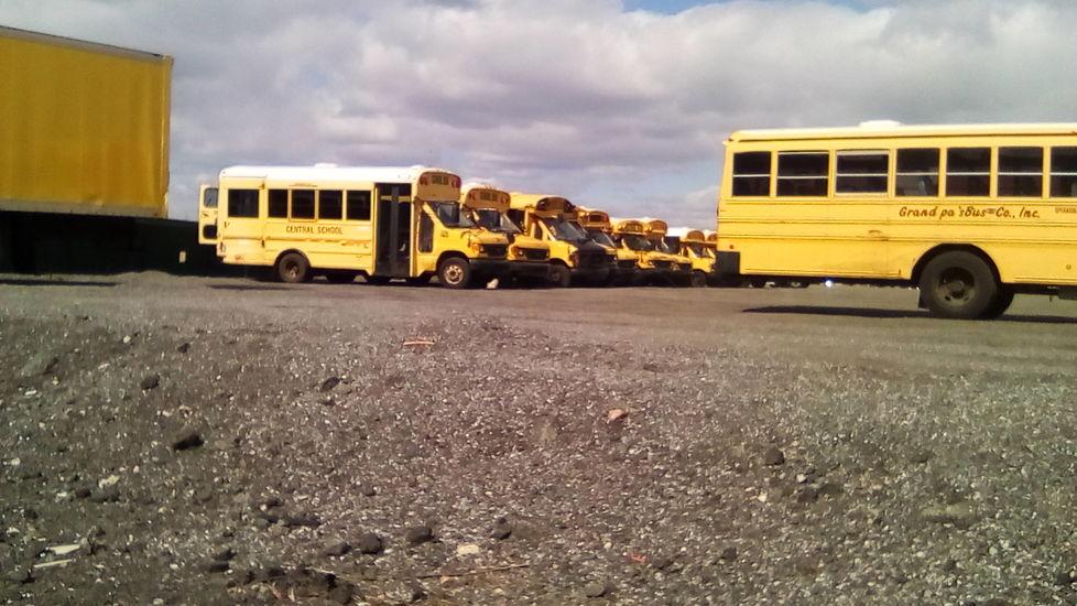 """ Yellow buss ""   2018"