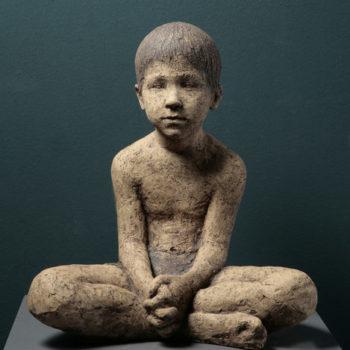 Teoksen nimi: Portrait of my son, Pekka 2008