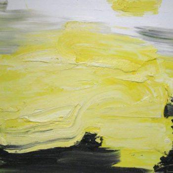 Teoksen nimi: Olen maalannut valoa-sarjasta Valoteos 2011