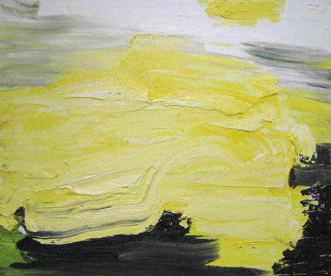 Olen maalannut valoa-sarjasta Valoteos 2011