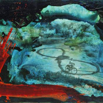 Name of the work: nimetö sarjasta tsunami-maalauksia 2011