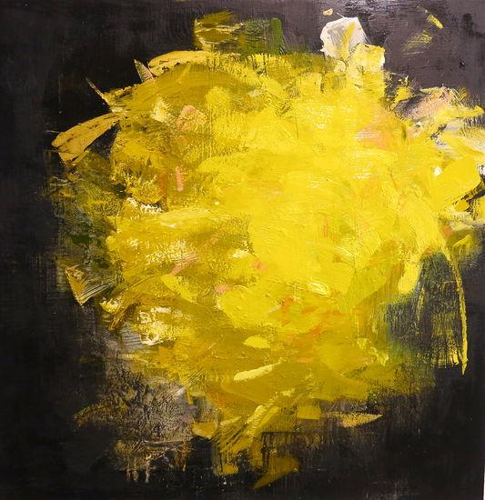 sarjasta Myrsky III, 2015, öljy mdf levylle, 100x100cm