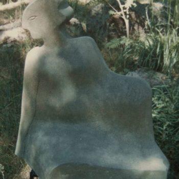 Teoksen nimi: istuva