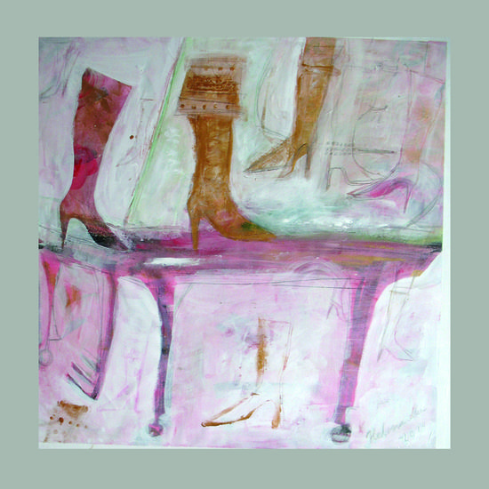 These Boots Are Made for Walkin´. 73 x 73.
