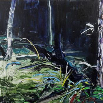Teoksen nimi: Metsä yöllä