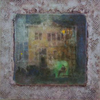 Teoksen nimi: Onnenhetki  2011
