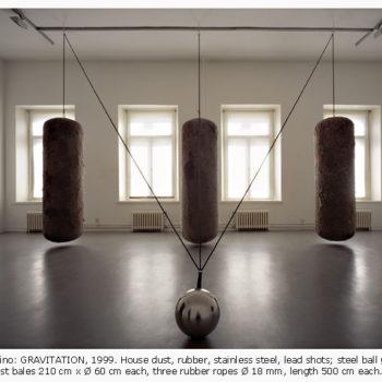 Teoksen nimi: Gravitation/ Vetovoima, 1999