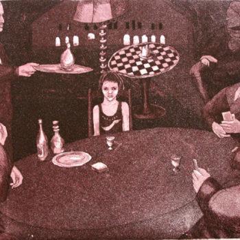Teoksen nimi: Kummajaisten pöydässä