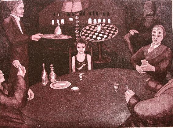 Kummajaisten pöydässä