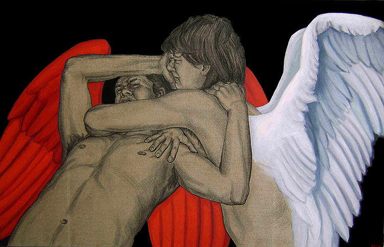Taistelevat enkelit