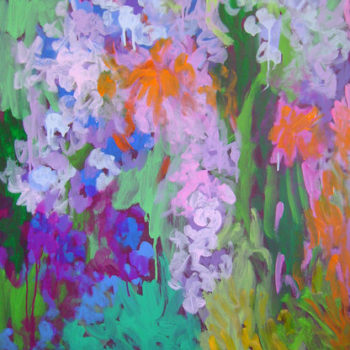 Teoksen nimi: Impressionistinen puutarha