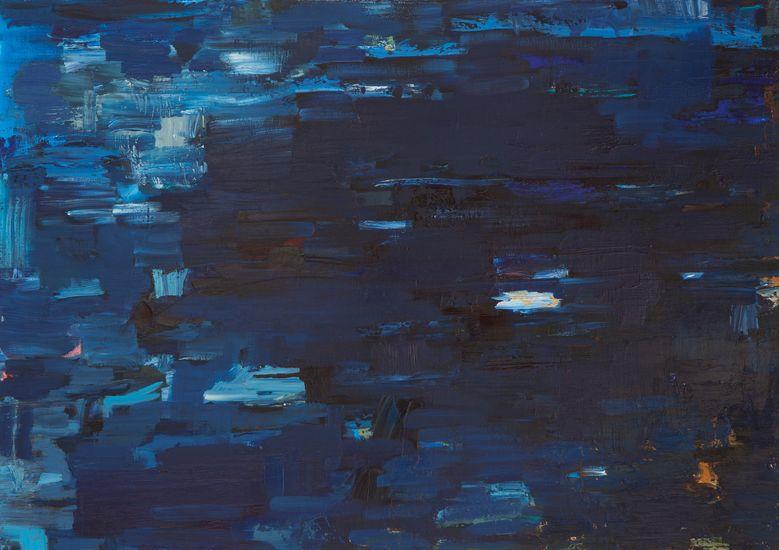 Maalaus, 85x120cm, öljy kankaalle, 2005