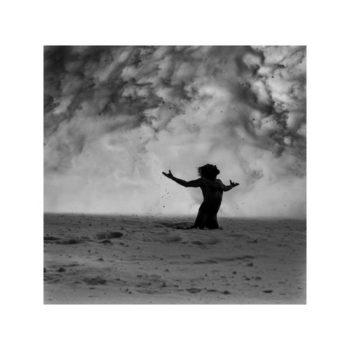 Teoksen nimi: Ice – Stay # 3 METSO JUHA Ice-Stay # 3, 2014 , 100 x 100 cm  Sarjasta Jää-jää / Ice-Stay / Eis-Bleib