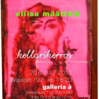 Teoksen nimi: galleria – Å 2013, Tku