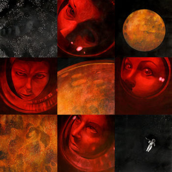 Teoksen nimi: Towards the red planet