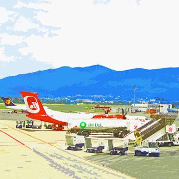 Teoksen nimi: Aeroporto di Firenze