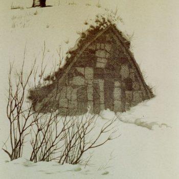 Teoksen nimi: Ammusvarasto Susisaarella 1977