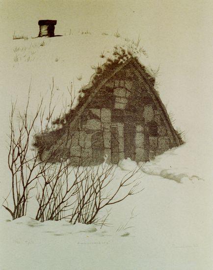 Ammusvarasto Susisaarella 1977
