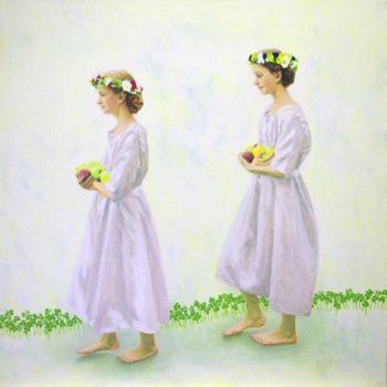 Teoksen nimi: Hyvien hedelmien kantajat / Bearers of good fruits