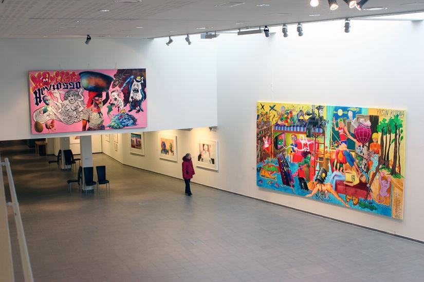 Näyttelynäkymä Kemin Taidemuseosta, 2010. / An exhibition view from Kemi Art Museum, 2010.