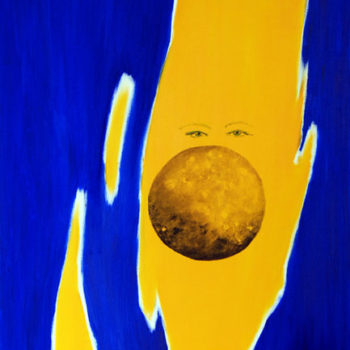 Name of the work: Eyes behind the moon