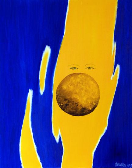 Eyes behind the moon
