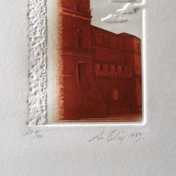 Teoksen nimi: Palazzo di Bologna III