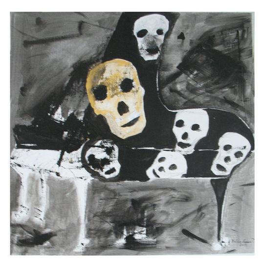 Kallot. Skulls. 73 x 73.
