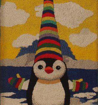Teoksen nimi: Pingviini ja myssy