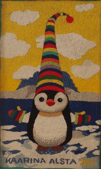 Pingviini ja myssy