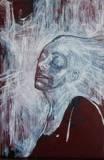 Omakuva. 2012. 50×60. Akryylimaalaus