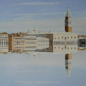 Teoksen nimi: Reflection #8 (Venetsia)