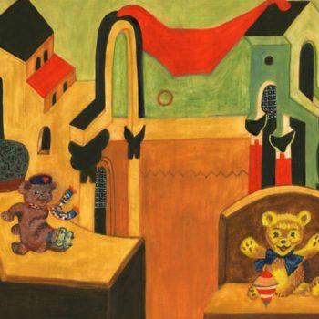 Teoksen nimi: Teddybears in Wonderland