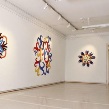 Teoksen nimi: Yleiskuva näyttelystäni Galleria Saskiassa Tampereella 2013