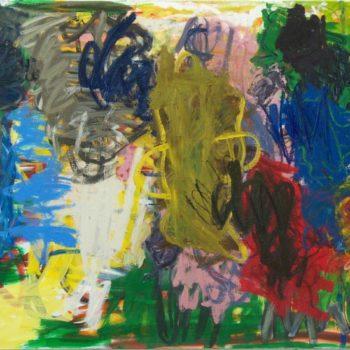 Teoksen nimi: Kokoontuminen, 2010, öljy kankaalle, 126×160,