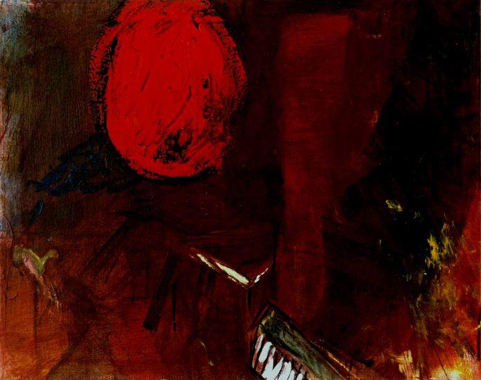 The Newborn, 65x81cm oil on canvas 2003