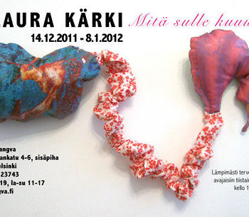 Name of the work: Sarjasta: Maksa, napanuora ja Suomi, 2010
