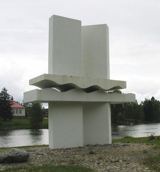 Koskenperkaajien muistomerkki 1974, Kokemäki