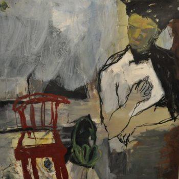 Teoksen nimi: Duke, Jean-Michel Pasquiat