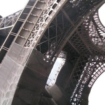 Teoksen nimi: La Tour Eiffel, sarjasta Promenades, 2010