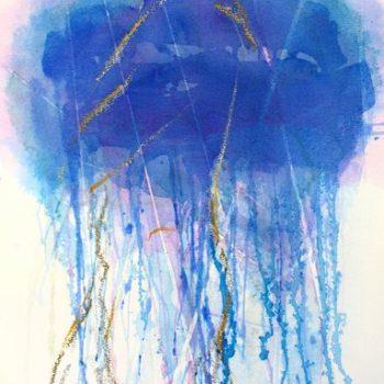 Teoksen nimi: Blu oltremare scuro