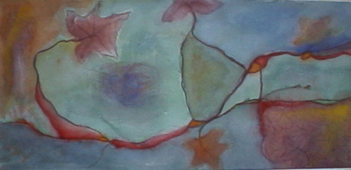 Hunajavirrat, akvarelli