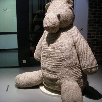 Teoksen nimi: Paperbear 2007