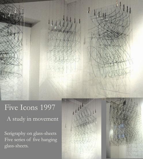 Five Icons 1997/ Galleria Bau Helsinki
