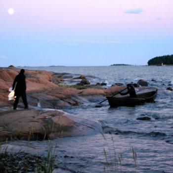 Teoksen nimi: Soutaja – Viimeinen matka, Rower – The Last Voyage, Helsinki