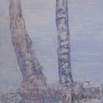 Teoksen nimi: Rungot     120 x 100 cm  v. 2009