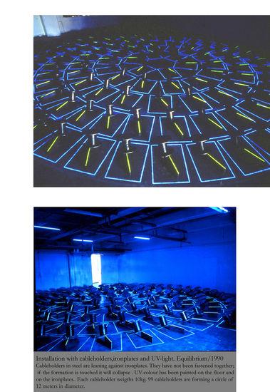 Equilibrium/1990/ Galleria Transform, Helsinki