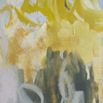 Teoksen nimi: Foreplay, 2016, öljyväri kankaalle, 100x70cm